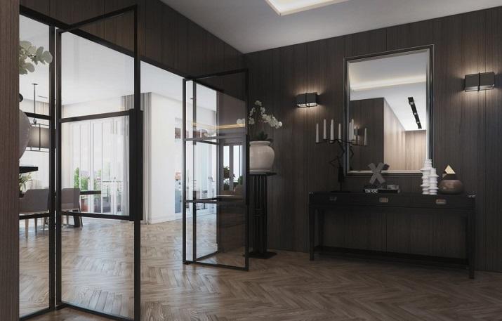 """""""Penthouse in Berlin ist eine Betäubenvergegenwärtigung geschaffen beiAndo Studio für ein Projekt, in Berlin, Deutschland begriffen zu werden.""""  Penthouse in Berlin von Ando Studio Penthouse in Berlin von Ando Studio 07"""