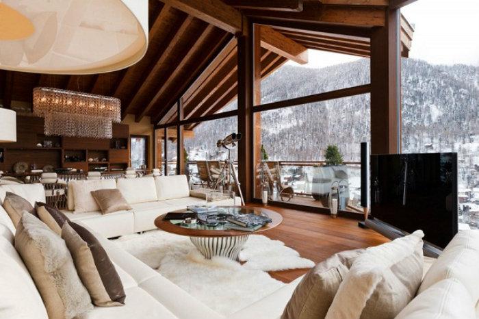 Chalet-Zermatt-Peak-Switzerland-Luxus-und-trendige-Plätze-Wohn-DesignTrend  UNSERE BESTEN ARTIKEL 2014 Chalet Zermatt Peak Switzerland Luxus und trendige Pl  tze Wohn DesignTrend