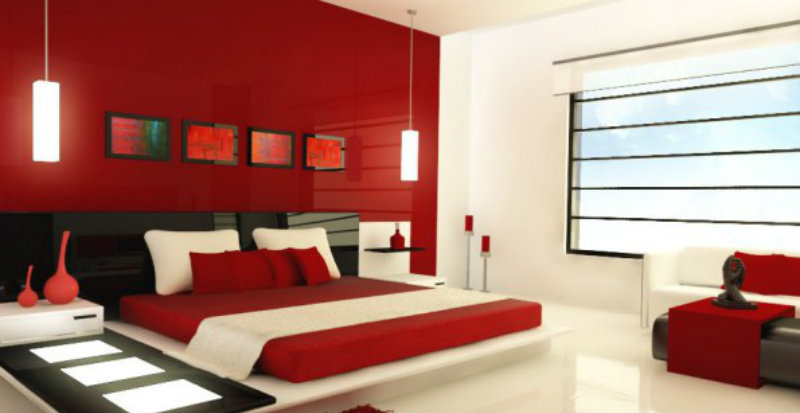 Rote-Schlafzimmer-wohn-design-interior-trends  Moderne Schafzimmer Trends Rote Schlafzimmer wohn design interior trends