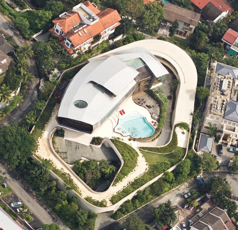 futuristische-hauser-2-architektur-wohned-design-trend  Die seltsame Architektur: futuristische Häuser futuristische hauser 2 architektur wohned design trend