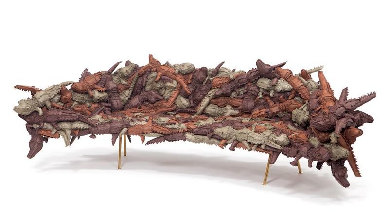Campana-3-Alligator-Sofa-FL  Milan Design Week 2015: Top Designers die Sie nicht verpassen können Campana 3 Alligator Sofa FL