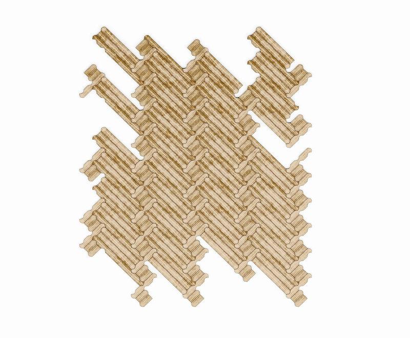 Listone-Giordano-Patricia-Urquiola-01  Milan Design Week 2015: Patricia Urquiola führt Parkettbeschlagsysteme ein Listone Giordano Patricia Urquiola 01