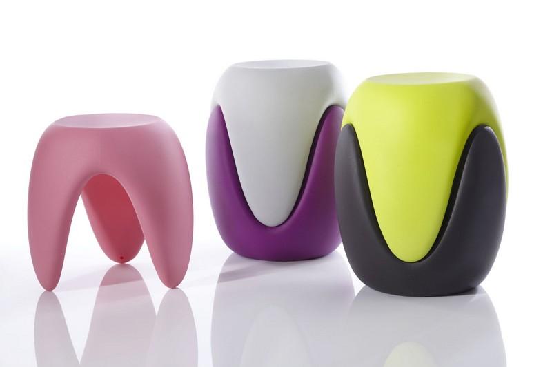 bite-me-stool-karim-rashid  Milan Design Week 2015: Top Designers die Sie nicht verpassen können bite me stool karim rashid