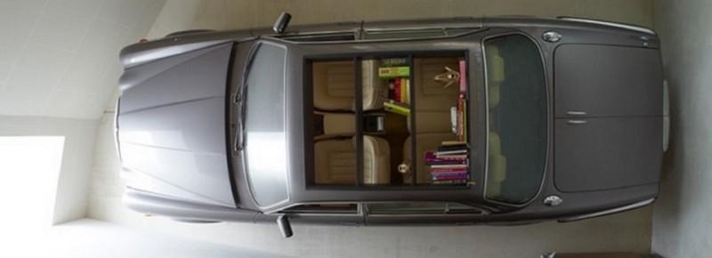 Schöne Wagen wurden erstaunliche Möbel