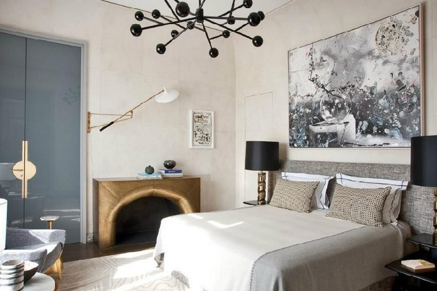 6-Jean-Louis-Deniot-mid-century-modern-apartmentin-paris-bedroom-design  Projekte von Jean-Louis Deniot 6 Jean Louis Deniot mid century modern apartmentin paris bedroom design