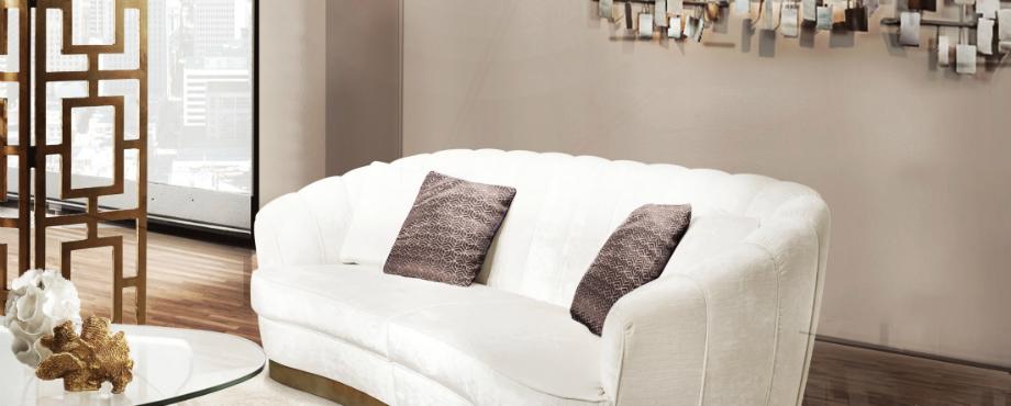 Wie man einen wei en sofa dekoriert wohn designtrend for Wohndesign trend