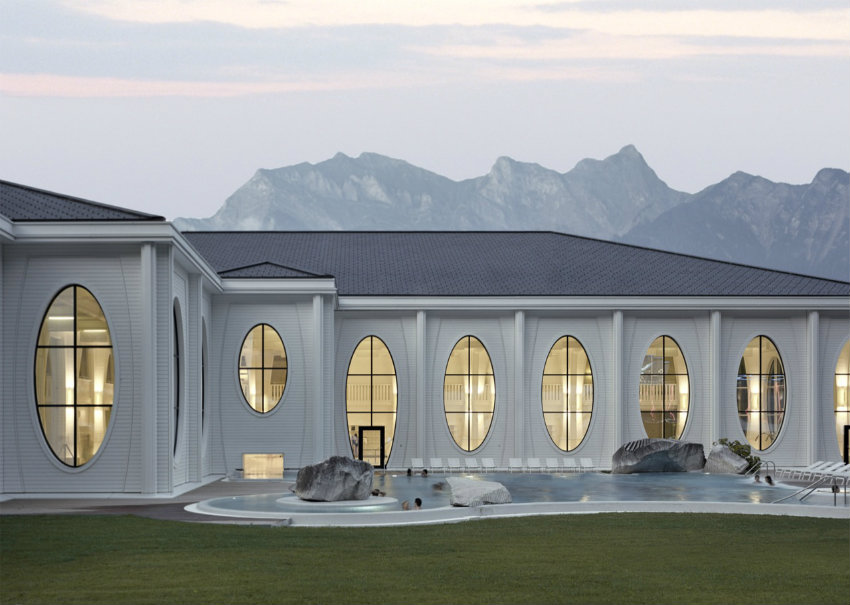 Tamina Baths - Himmel von Smolenicky & Partner Architecture gestaltet tamina Tamina Baths - Himmel von Smolenicky & Partner Architecture gestaltet 201111090301