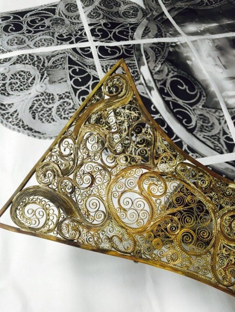 filigran Filigran Spiegel bringt eine der ältesten Schmuckherstellung Techniken Boca do Lobo Debuts New Luxury Wall Mirror at iSalone 2016 2 1