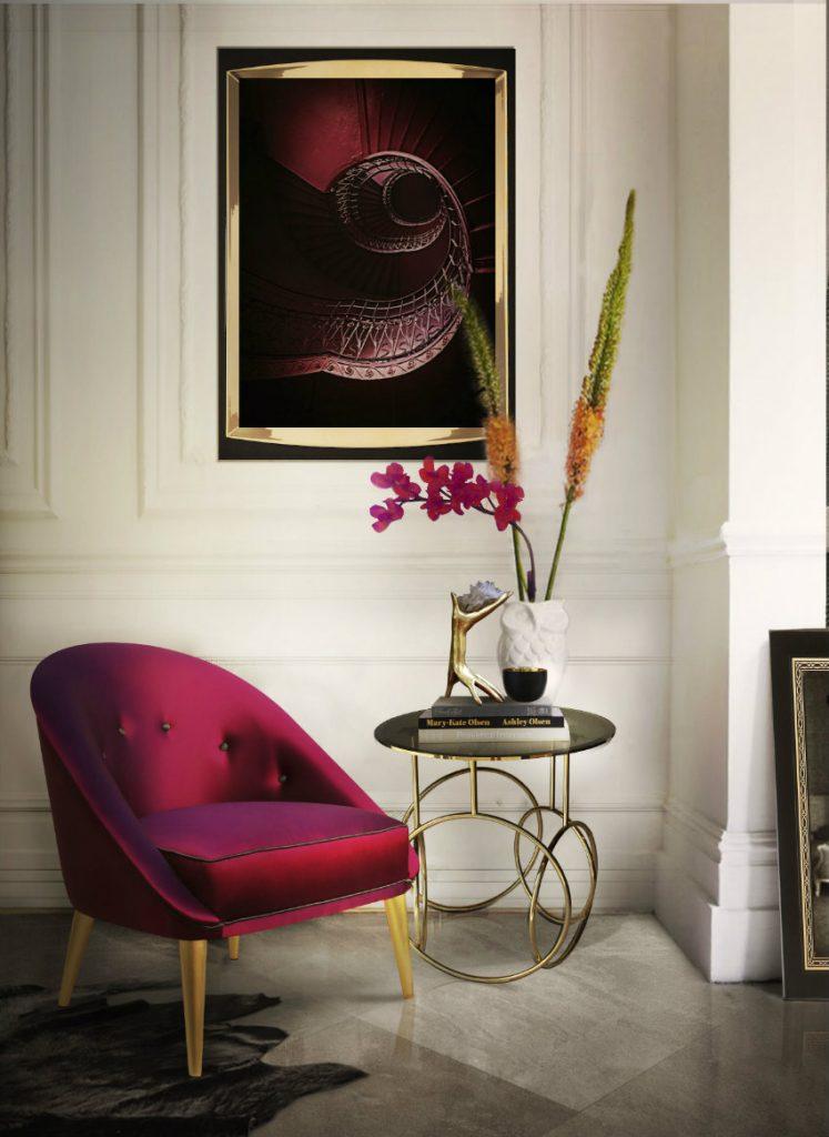Wie ein modern Sessel für Ihr Wohnzimmer Design wählen wohnzimmer design Wie ein moderner Sessel für Ihr Wohnzimmer Design wählen nessa chair kiki side table koket projects