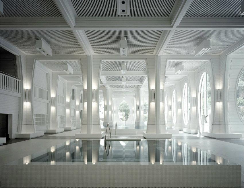 Tamina Baths - Himmel von Smolenicky & Partner Architecture gestaltet tamina Tamina Baths - Himmel von Smolenicky & Partner Architecture gestaltet stringio 1 1