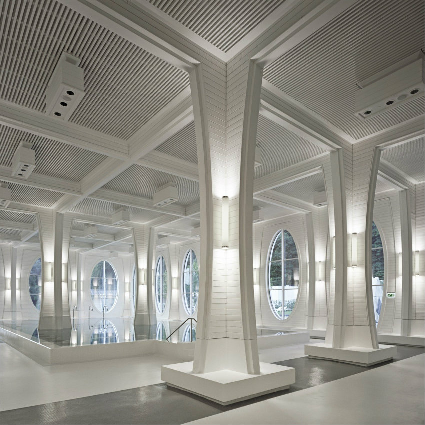 Tamina Baths - Himmel von Smolenicky & Partner Architecture gestaltet tamina Tamina Baths - Himmel von Smolenicky & Partner Architecture gestaltet stringio 2
