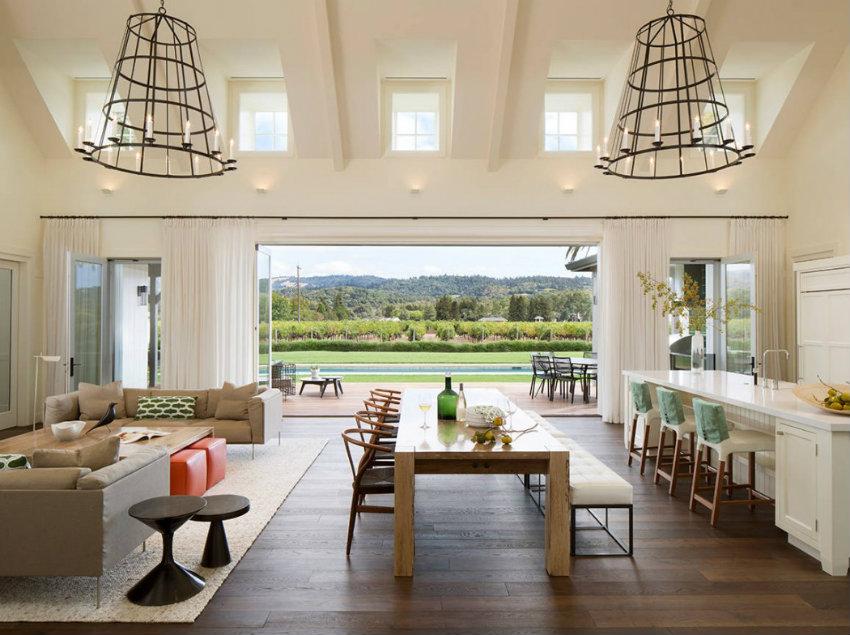 10 schöne Landhäuser, die Ihren Sommer zu entkommen inspirieren landhäuser 10 schöne Landhäuser, die Ihren Sommer inspirieren werden 007 vineyard view total concepts 1050x784