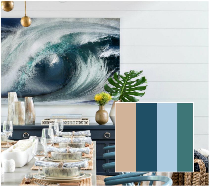 Esszimmer: Farben und Möbel zu dieser Sommer esszimmer Esszimmer: Farben und Möbel zu dieser Sommer collage 9