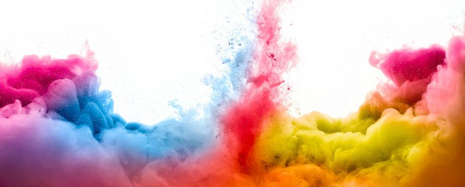 farben 8 Unerwartete Weise, um mit Farben zu dekorieren colorful smoke 577