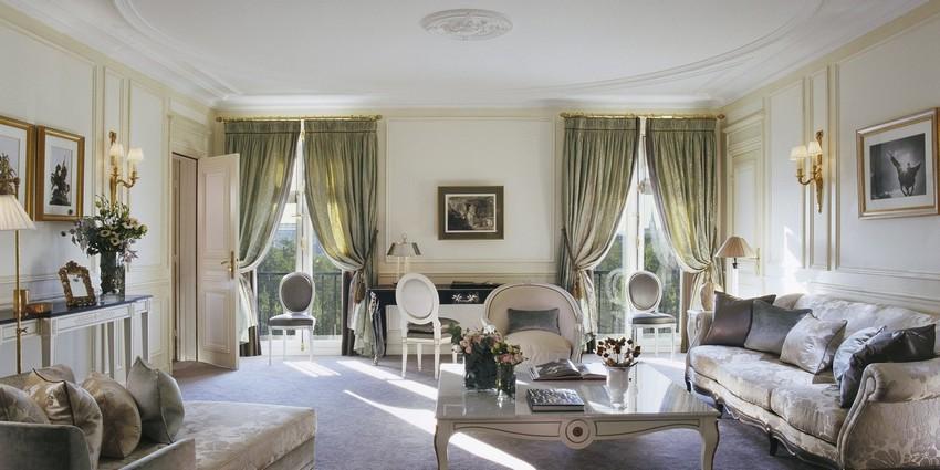 LE_MEURICE_PRESTIGE_SUITE_406-7_Living_Room1 designer hotels Die schönsten Designer Hotels in Paris die Sie besuchen müssen LE MEURICE PRESTIGE SUITE 406 7 Living Room1