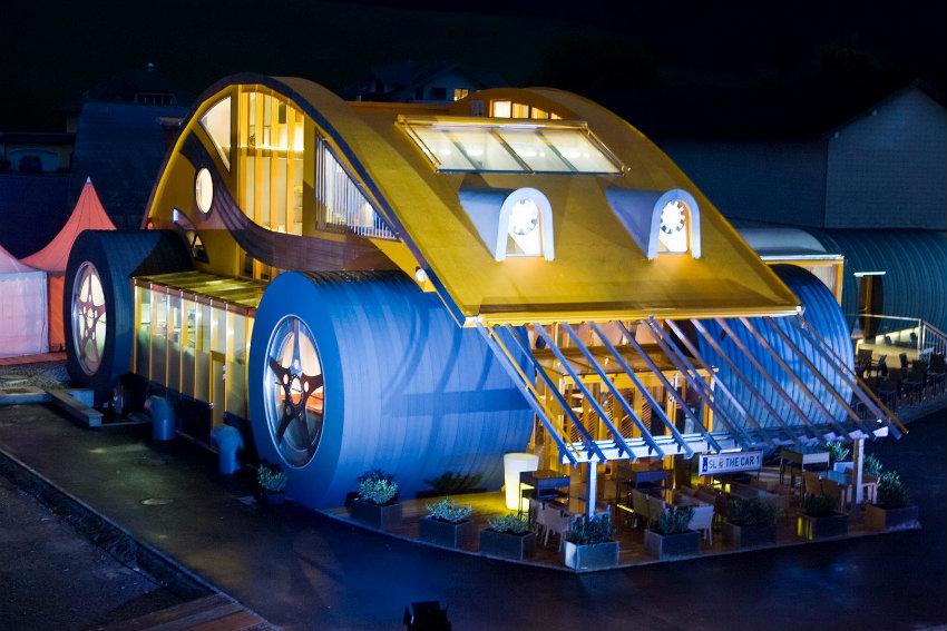 Ausgefallende Architektur – VW Beetle Restaurant in Österreich vw beetle Ausgefallende Architektur – VW Beetle Restaurant in Österreich VW Beetle Restaurant 1