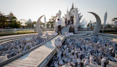 Wat Rong Khun – ein Architekturwunder in Thailand