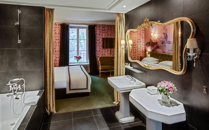 Die schönsten Designer Hotels in Paris die Sie besuchen müssen designer hotels Die schönsten Designer Hotels in Paris die Sie besuchen müssen hotel particulier montmartre paris bathroom xxlarge 1