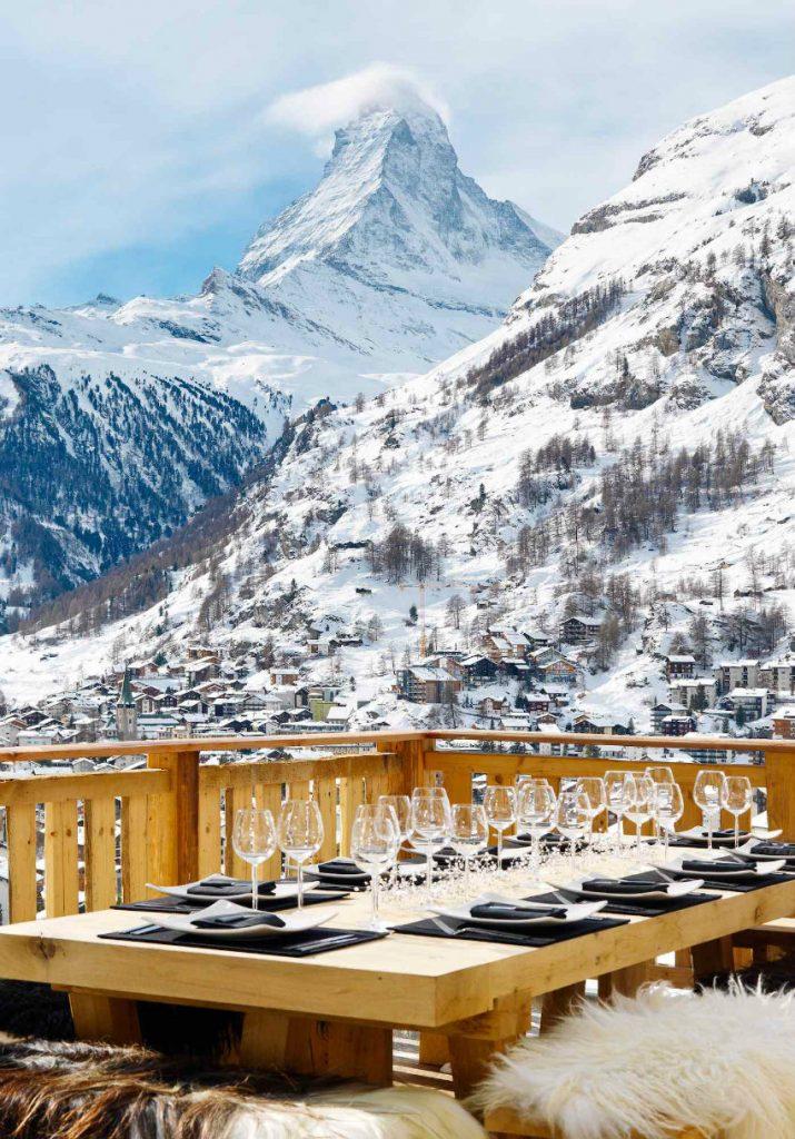 zermatt-chalet-les-anges-22 chalets 5 atemberaubende Chalets in der Schweiz Zermatt Chalet Les Anges 22