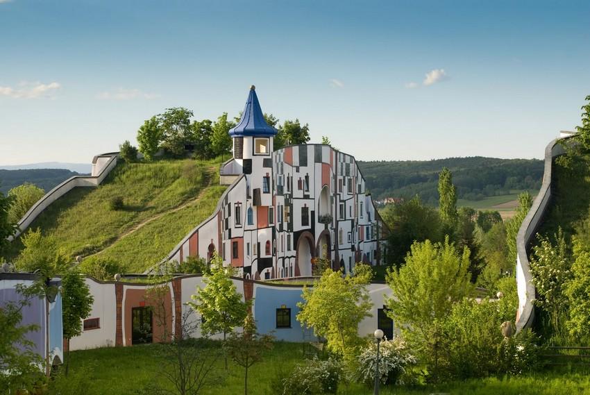 32d8b53d73e1da31502b9d44229d3164 hundertwasser Die Gebäude von Hundertwasser: eine Architektur für den Menschen 32d8b53d73e1da31502b9d44229d3164