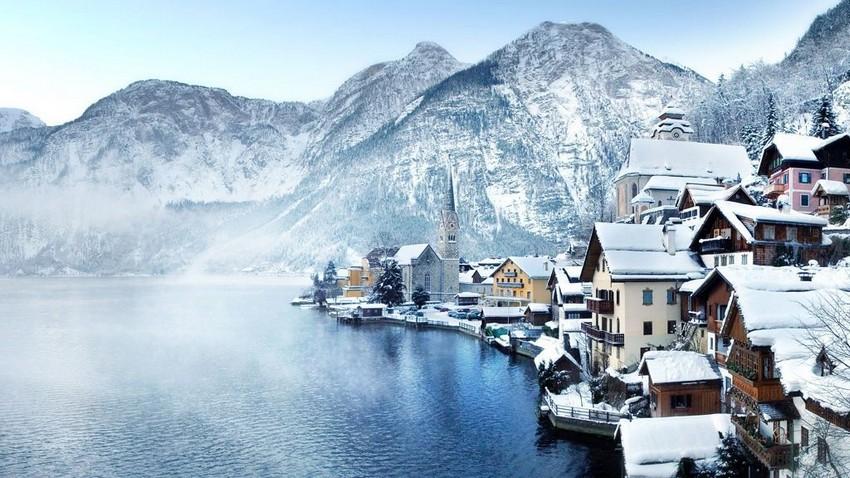 Top 10 Atemberaubende Winterlandschaften in Europa winterlandschaften Top 10 Atemberaubende Winterlandschaften in Europa hallstatt oberoesterreich 2cav5