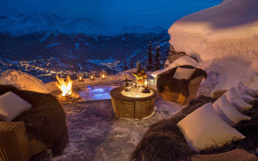 5 atemberaubendste Chalets der Alpen Chalets Luxuriöste atemberaubendste Chalets der Alpen Chalet Les Trois Couronnes 23 e1482401279370