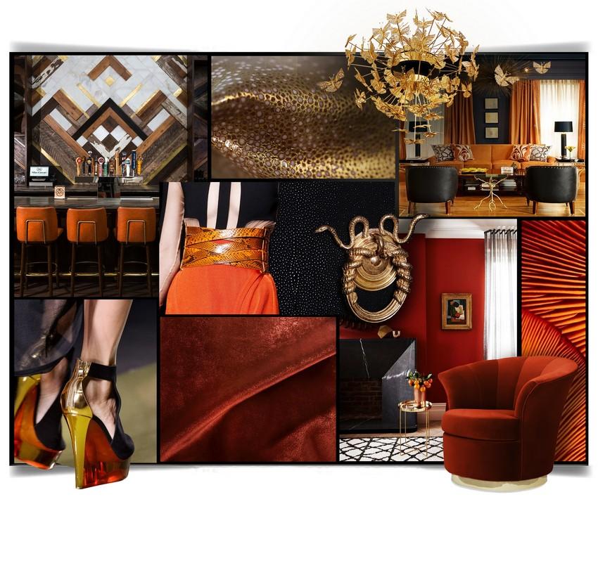 Trendfarben für ein herrliches Wohnzimmer pantone Pantone Trendfarben für ein herrliches Wohnzimmer KOKETs Trendiest colors 2017 flame 1