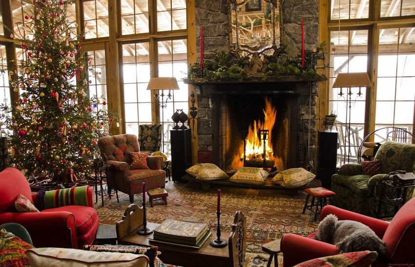Weinachten Dekoideen Weihnachten Top 10 Fur Ihr Wohnzimmer Design Beautiful Christmas Home Decoration