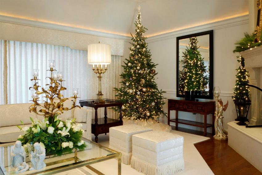 Weinachten Dekoideen weihnachten dekoideen Top 10 Weihnachten Dekoideen für Ihr Wohnzimmer Design best christimas interior design ideas uk