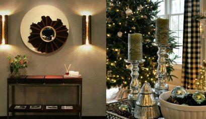 Weihnachten,Deko-Ideen,Luxus Eingangshalle,luxuriöse Konsole Deko-Ideen Top 10 Weihnachten Deko-Ideen zur einen Luxus Eingangshalle capa 2 409x237
