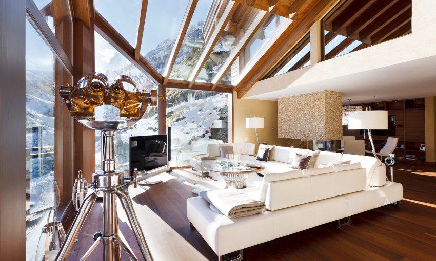 5 atemberaubendste Chalets der Alpen Chalets Luxuriöste atemberaubendste Chalets der Alpen chaletzermattpeak1 e1482401307540