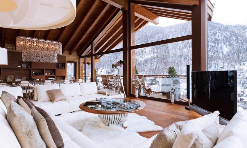 5 atemberaubendste der Alpen Chalets Luxuriöste atemberaubendste Chalets der Alpen chaletzermattpeak2 e1482401319182