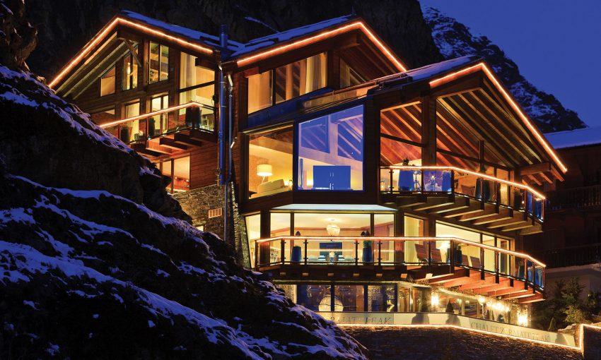5 atemberaubendste der Alpen Chalets Luxuriöste atemberaubendste Chalets der Alpen chaletzermattpeak3 e1482401331343
