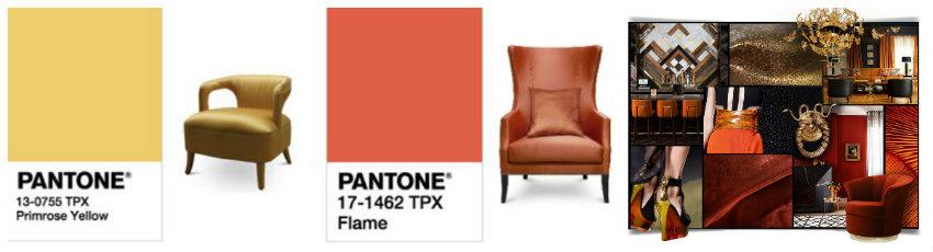 Trendfarben für ein herrliches Wohnzimmer pantone Pantone Trendfarben für ein herrliches Wohnzimmer collage2