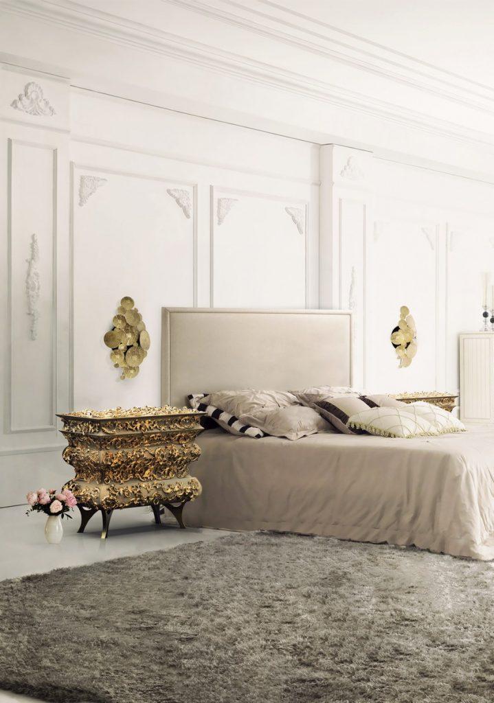 crochet-bedside Schlafzimmer Design 10 Luxus-Möbel zu einem modernen Frühling Schlafzimmer Design crochet bedside