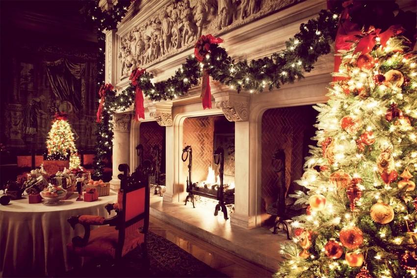 luxury-christmas-ornaments-c47papvh weihnachten dekoideen Top 10 Weihnachten Dekoideen für Ihr Wohnzimmer Design luxury christmas ornaments c47papvh