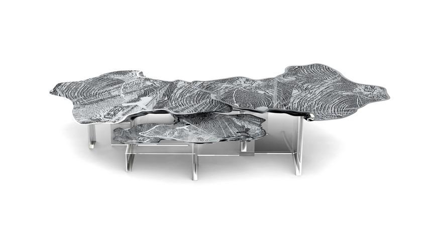 monet-silver-center-table Couchtische 7 Luxus Couchtische, die Ihre Wohn-Design schaukeln werden monet silver center table luxus beistelltische 10 Luxus Beistelltische und Couchtische Dekoideen für den Frühling monet silver center table
