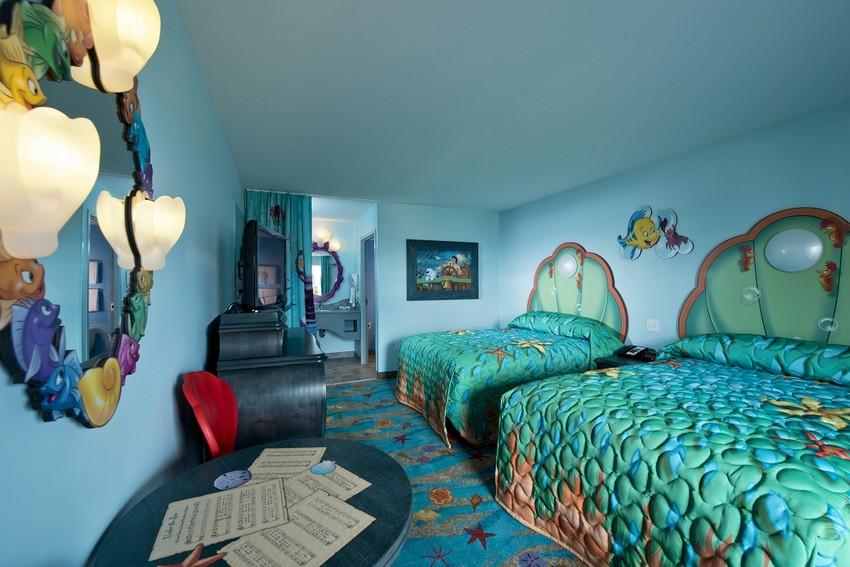 Kinderzimmer kinderzimmer Verzauberten Disney Kinderzimmer Wohnideen Art of Animation Little Mermaid room