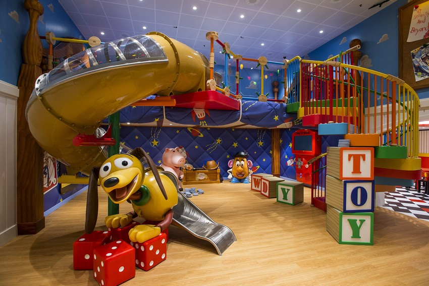 Kinderzimmer kinderzimmer Verzauberten Disney Kinderzimmer Wohnideen DCL AndysRoom