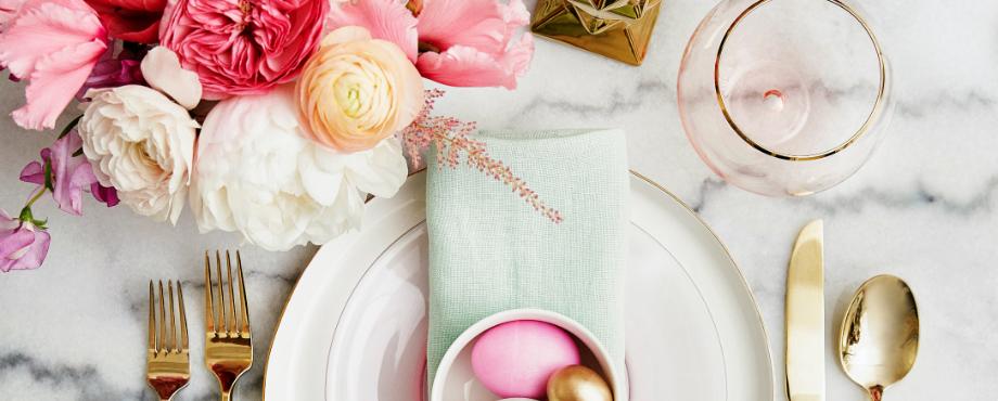 Inspirationen und Ideen für ein luxuriöses Ostern