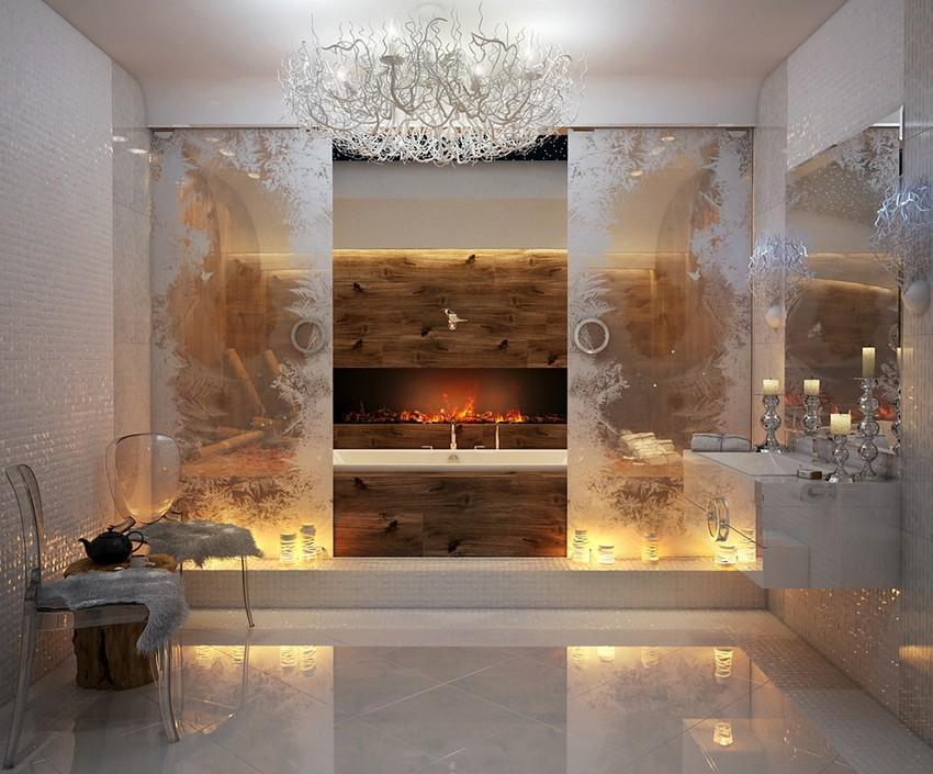 Kamine Kamine Warme und trendige Kamine für den Winter bougies salle de bains
