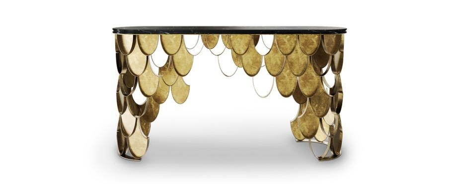 erstaunliche konsole f r moderne eingangshalle stil wohn. Black Bedroom Furniture Sets. Home Design Ideas