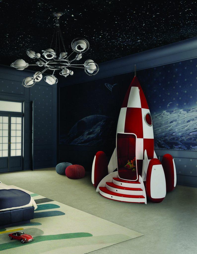 circu-rocket-ambiance kinderzimmer Verzauberten Disney Kinderzimmer Wohnideen circu rocket ambiance