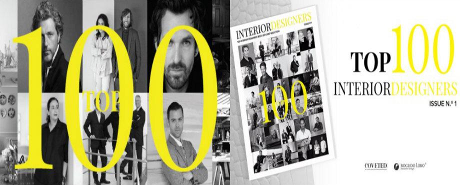COVETED Zeitschrift zeigt Top 100 Innenarchitekten