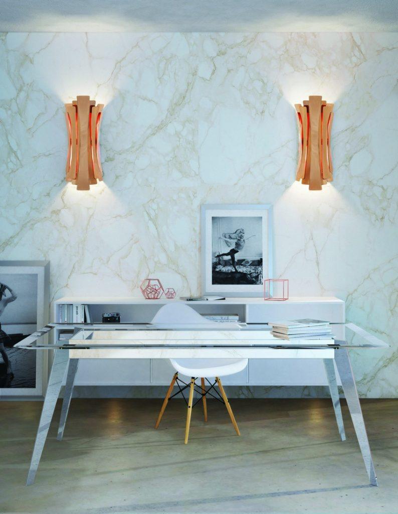 Etta Wandlampe von DelightFULL Büros Einrichtungsideen Luxus und moderne Büros Einrichtungsideen für maximale Inspiration delightfull etta wall lamp ambience
