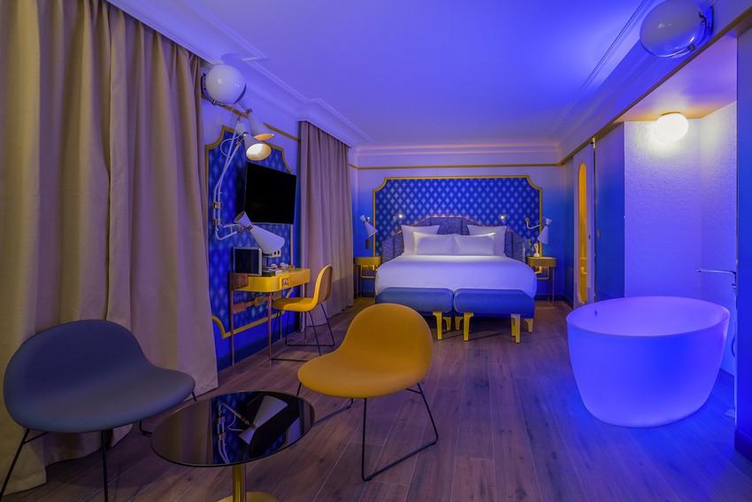 Wie Werden Hotels Inneneinrichtung im Zukunft Aussehen Hotels Inneneinrichtung Wie Werden Hotels Inneneinrichtung im Zukunft Aussehen delightfull idol hotel chambre lady soul paris 02