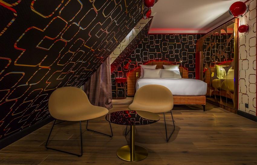 delightfull_idol-hotel-chambre-lady-soul-paris-03 Hotels Inneneinrichtung Wie Werden Hotels Inneneinrichtung im Zukunft Aussehen delightfull idol hotel chambre lady soul paris 03