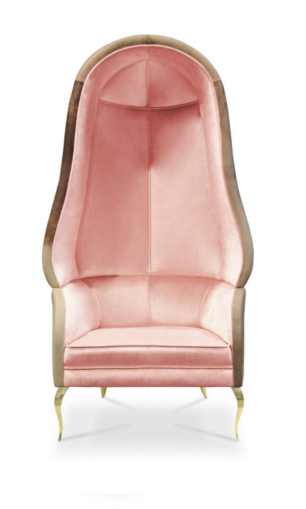 Valentinstag Romantische Sessel für einen luxuriösen Valentinstag drapesse chair 13