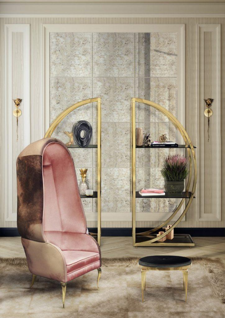 Valentinstag Valentinstag Romantische Sessel für einen luxuriösen Valentinstag rita stool koket projects