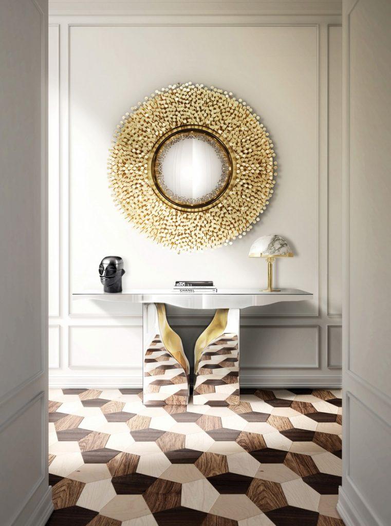 modern Eingangshalle  modern Eingangshalle Erstaunliche Kommode für modern Eingangshalle Stil robin mirror hr